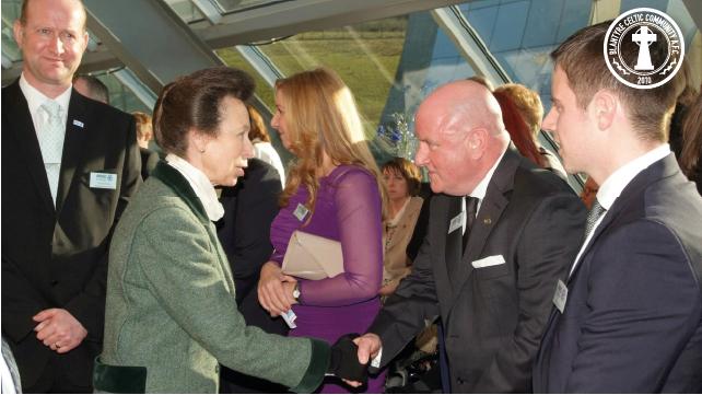 HRH Princess Anne meeting CB